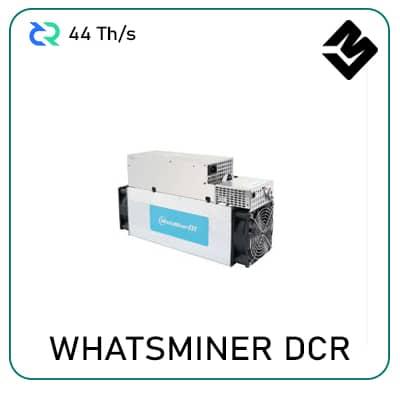 whatsminer dcr