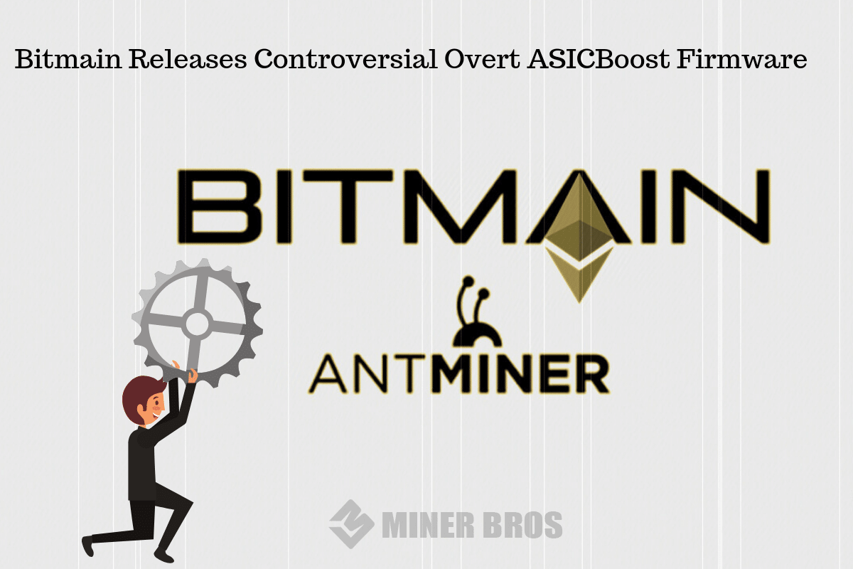 Bitmain ASICBoost Firmware