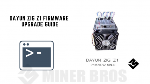 DAYUN ZIG Z1 FIRMWARE UPGRADE GUIDE
