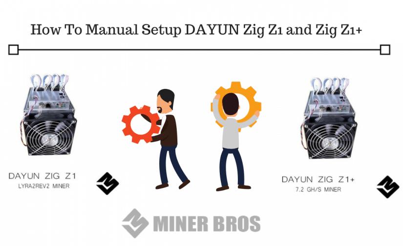 How To Manual Setup DAYUN Zig Z1 and Zig Z1+