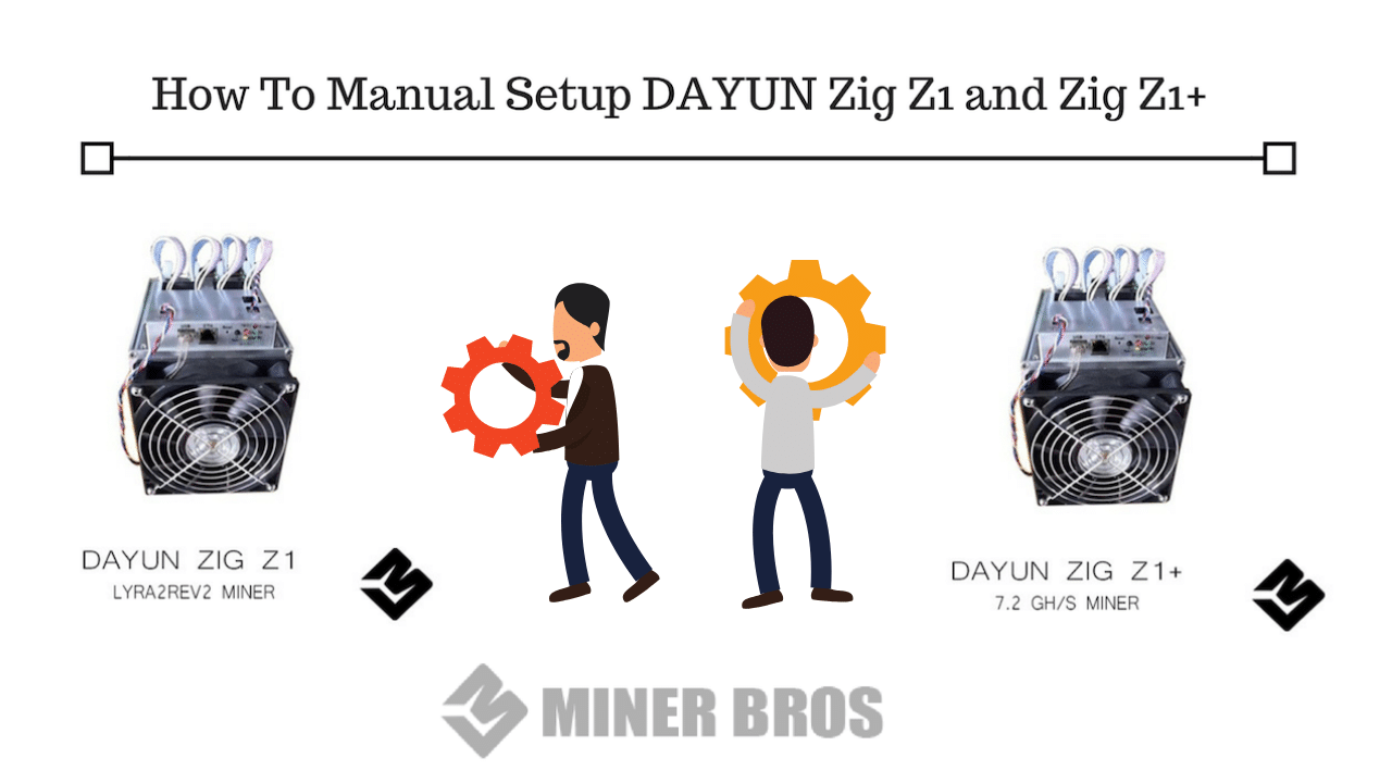 How To Manual Setup DAYUN Zig Z1 and Zig Z1+