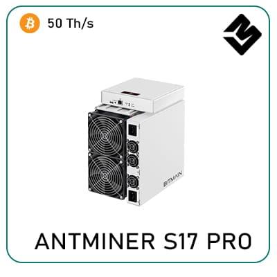 antminer s17 pro 50T