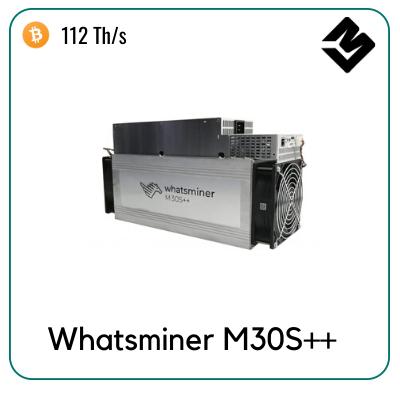 Whatsminer M30s ++