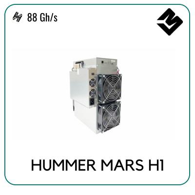 Hummer Miner Handshake Mars H1 88 Gh S Cryptominerbros