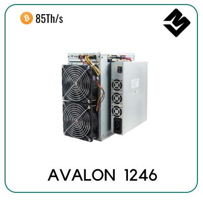 Canaan Avalon 1246 miner