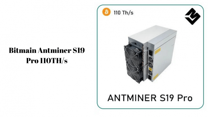 Bitmain Antminer S19 Pro 110TH_s